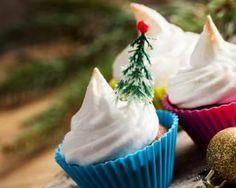 Cupcakes allégés meringués et fourrés au lemon curd