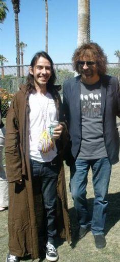 Dhani & Jeff Lynne