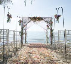 Strandhochzeit Mallorca - Idee für die Zeremonie