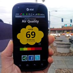 Pollution Solution: New App Measures Air Quality During Our Commute