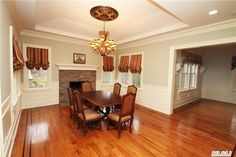 Dining Room with fireplace! Love it!