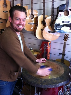 Clint from Something For Kate visits Revolver Drums