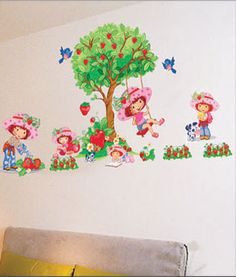 Good Details zu Wandaufkleber Wandtattoo Wandsticker Emily Erdbeere Kind Kinderzimmer WAK