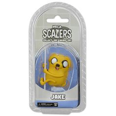NECA Adventure Time Series 2 inch Scalers Mini Character Figure - Jake and Finn