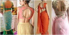 Hurry up!!! 10 Latest Women Saree Blouse Designs  Click Here To See More -> http://www.couponndeal.com/coupon/voonik-saree-blouses