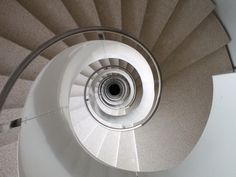 White spiral by Ian Prince