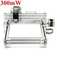 Unbeatable Price: Only $205 For 300mW Desktop DIY Violet Laser Engraving Machine Picture CNC Printer