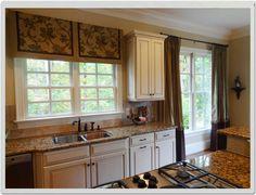 Window Valences  Custom Window Valances Ideas Photos Kitchen Amusing Window Treatment Ideas For Kitchen Decorating Design