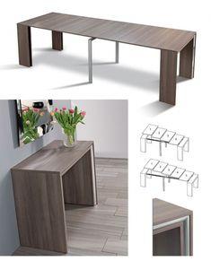 Creative Space-Saving Furniture Designs For Small Homes Folding Furniture, Smart Furniture, Furniture Design, Refurbished Furniture, Pallet Furniture, Furniture Makeover, Painted Furniture, Bedroom Furniture, Furniture Ideas