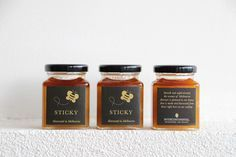 Sticky | Specialty Farmed and Harvested Fresh Honey #Packaging for the Intercontinental Hotel | The Rialto, Collins Street, Melbourne