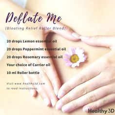 Deflate Me (Bloating Relief Roller Blend) - Healthy 3D