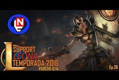 LEONA SUPP | parche 6.14 | Ep. 26 - League of Legends en español