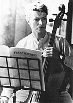 Bowie playing Schubert - Bowie can just sit there and be himself.  I like him no matter what he's doing.