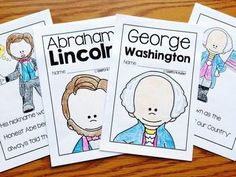 Easy to read books for Presidents Day from Simply Kinder. Kindergarten Social Studies, Teaching Social Studies, Kindergarten Teachers, Kindergarten Activities, Language Activities, Preschool Learning, Winter Activities, Teaching Tools, Presidents Book