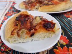 Pizza crudo e gorgonzola - lievito madre