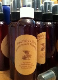 Natural Insect Repellent 4 Oz by Naturally Lilly's on Etsy, $6.00