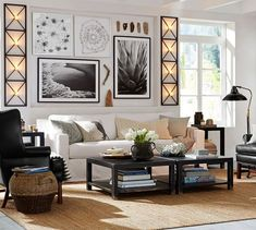 Crescent by Alicia Bock | Pottery Barn - Print AND room ideas!