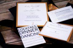 Nautical Wedding Invitation Sample by NINE7OHDESIGNS on Etsy, $15.00