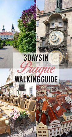 3 Days in Prague : A walking guide of how to squeeze in your bucket list in a short trip in Prague. Get Europe travel itinerary ideas and Prague travel tips here. Voyage Europe, Europe Travel Guide, Europe Destinations, Travel Guides, Prague Travel Guide, Travel Hacks, Travel Checklist, London Travel, Budget Travel