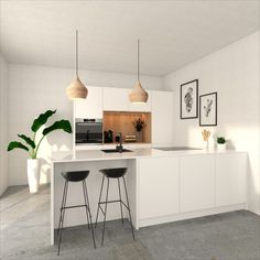 Industrial Interiors, Industrial Style, Pink Fish, Cabinet Of Curiosities, Hygge Home, Pink Clouds, Black Furniture, Live Wallpapers, Interior Inspiration