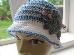 "crochet ""hipo hat "" - 100% cotton"