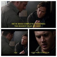 One of my favorite episodes in 9 seasons: Yellow Fever. Dean gets ghost sickness!!!