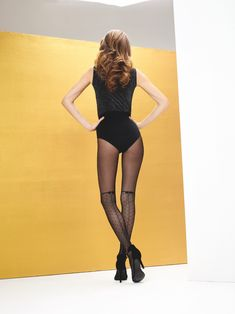 Elegant, Outfit, Stockings, One Piece, Sexy, Gift, Swimwear, Fashion, Patterned Tights