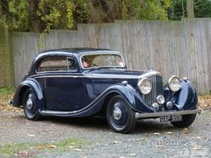 Bentley 4.25 Litre Gurney Nutting Pillarless Coupe Pillarless Coupe 1936 for sale