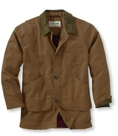 Bean's Original Waxed Cotton Field Coat: Casual Jackets | Free Shipping at L.L.Bean