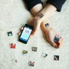 Turn your Instagram photos into Temporary Tattoos!!! http://www.picattoo.com/