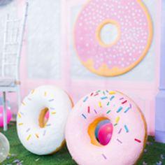 Donut Props from a Donut-Land Birthday Party on Kara's Party Ideas   KarasPartyIdeas.com (7)