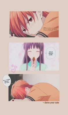 Fruits Basket Quotes, Fruits Basket Manga, Fruits Basket Cosplay, Cute Anime Coupes, Anime Manga, Anime Guys, New Wallpaper, Anime Art Girl, Aesthetic Anime
