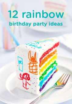 Are you looking for a fun way to celebrate your little one's summer birthday? These 12 rainbow birthday party ideas may be perfect for your baby or toddler's special day.
