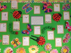 Eric Carle Growing topic, The Hungry Caterpillar, The Tiny Seed, The Bad Tempered LadyBird and The Busy Spider