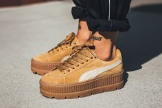 a51a8180 The Rihanna x Puma Fenty Suede Cleated Creeper Drops - Check out this  amazing Sneakers on The Notice Centre