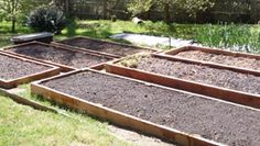 Preparing the ground below for a raised bed garden AND required soil depths for veggies.