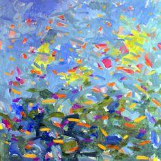 "www.stevenwmiller.com original paintings untitled 50x50"" oil on canvas"