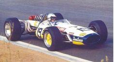 Peter de Klerk (ZA) - Brabham (Repco non classified Jack Holme Formula 1 Car, Old Race Cars, F1 Drivers, F1 Racing, Car And Driver, Grand Prix, Classic Cars, Automobile, Ferrari