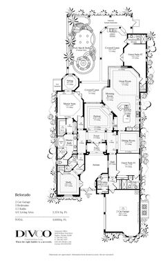 Luxury Home Plans Florida 1