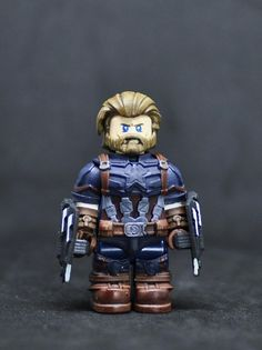 Custom Marvel minifigures Kang on lego brand bricks