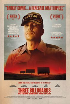 'Three Billboards Outside Ebbing, Missouri' (02/01/2018- Unlimited Screening) 9 out of 10.