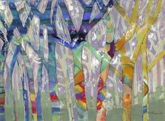 M.J. Beswick - Tree Party I - art prints and posters
