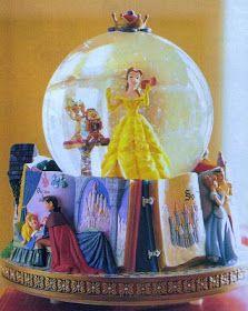 Disney Snowglobes Collectors Guide: Princess Fairy Tales Snowglobe