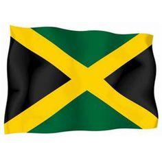 Soccer Nation Flag JAMAICA (3ft x 5ft, 150x90cm)