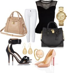 classy!, created by hsqaderi on Polyvore, my Birthday is just around the corner, anyone, anyone...