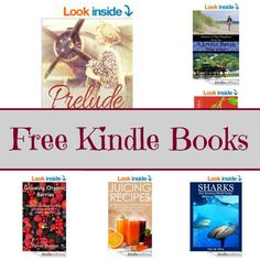 Free Kindle Book List: Prelude, Sharks, Juicing Recipes,and More