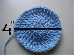 How to make a crochet hat the right size...