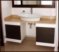 Acabados & Formas Sink, Vanity, Bathroom, Home Decor, Bathroom Furniture, Shapes, Architecture, Home, Sink Tops