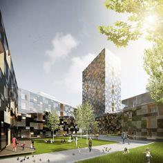 Quatrier M by Delugan Meissl Associated Architects