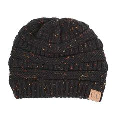 910b1378e66 C.C. Exclusives Cable Knit Beanie in Burgundy Mix YJ800-BURG ...